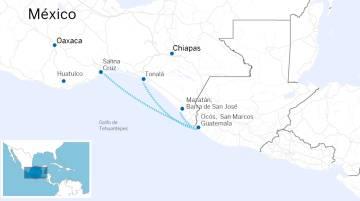 Lanchas abarrotadas: As novas cruzadas dos imigrantes da América Central rumo aos EUA
