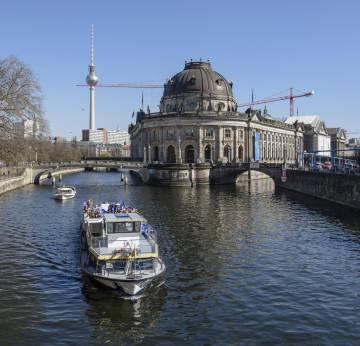 Museo Bode de Berlín, de donde fue robada la moneda.
