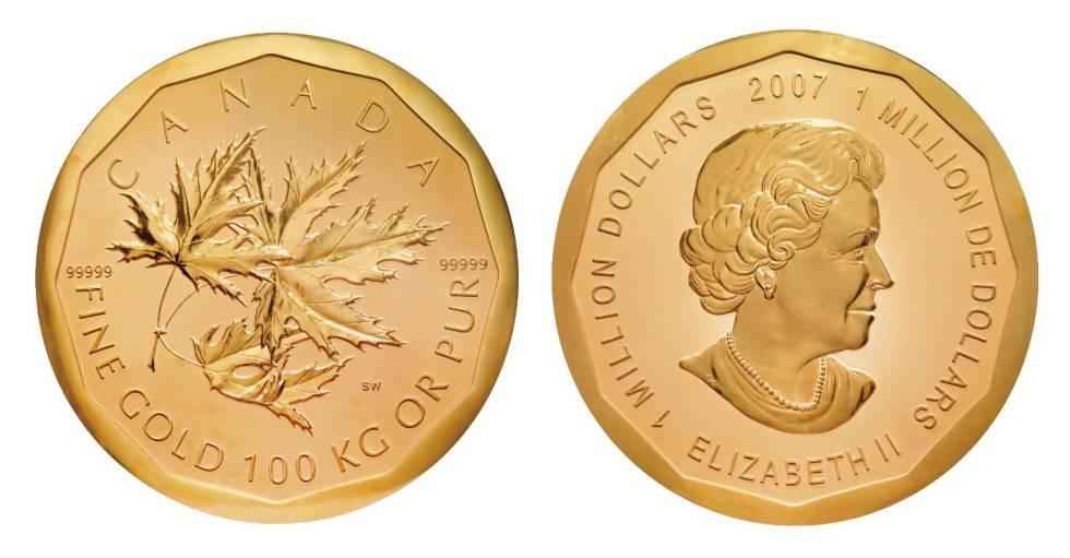 Las dos caras de la moneda canadiense.