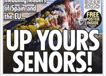 War of words: Britain's pro-Brexit press fans flames in Gibraltar row