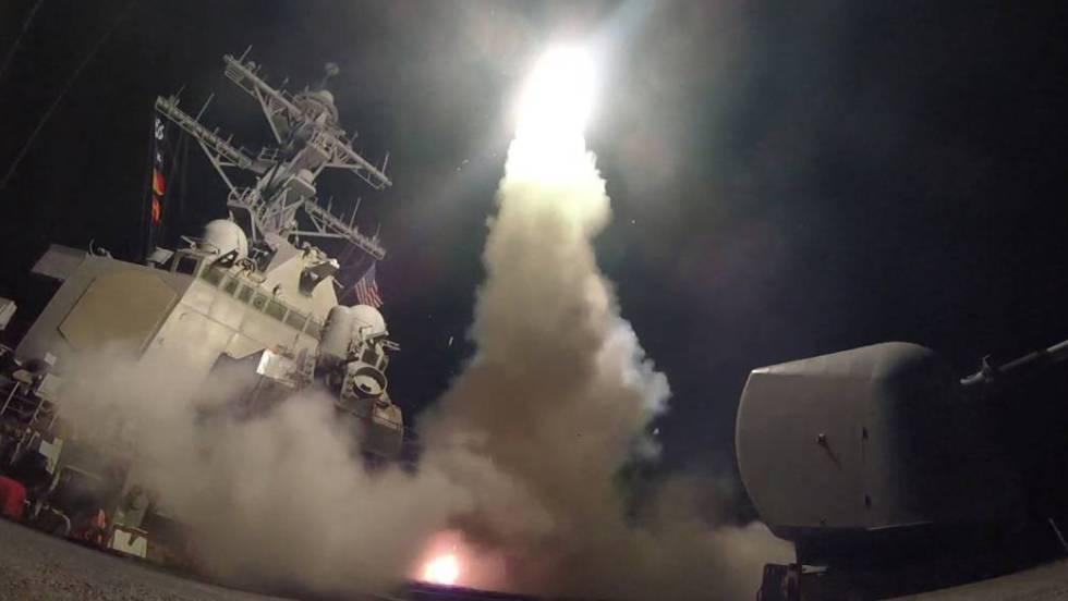 Resultado de imagem para los misiles de trump