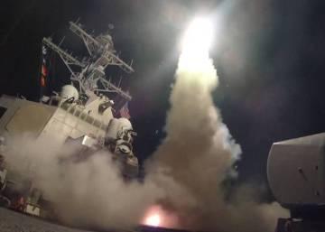 Trump ordena atacar con misiles al régimen sirio