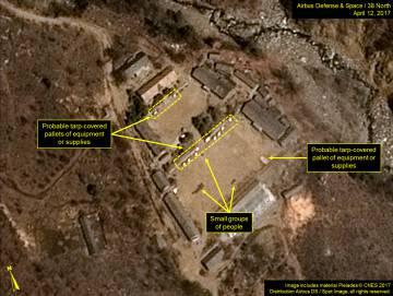 Coreia do Norte desafia Trump e prepara um novo teste nuclear