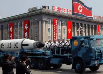 """Estados Unidos califica de """"provocación"""" el fallido misil de Corea del Norte"""