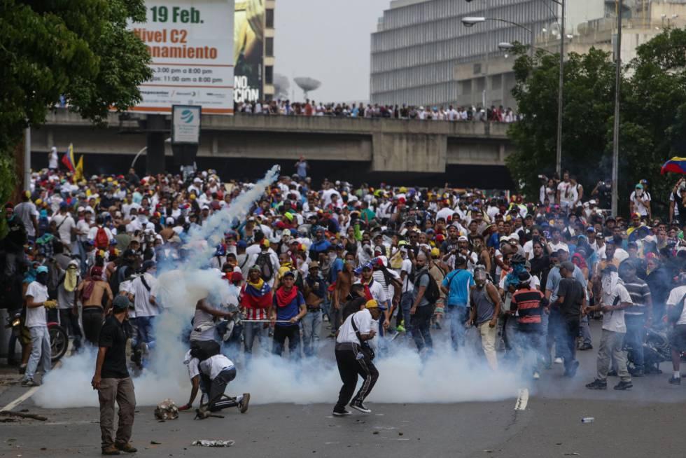 Resultado de imagen de protestas en venezuela