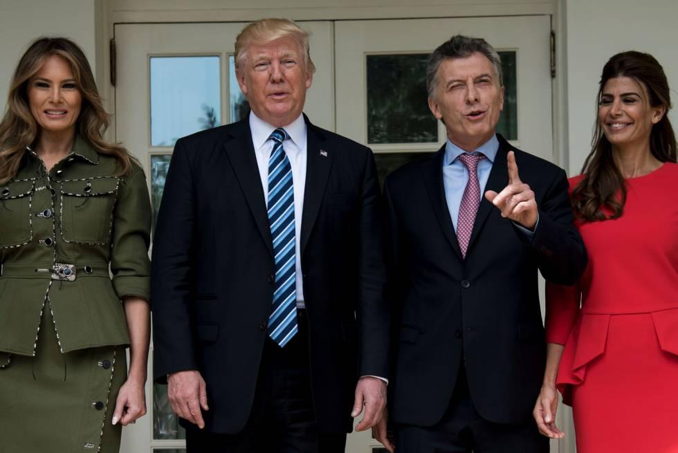 Trump apoia Macri e aposta em aprofundar a relação