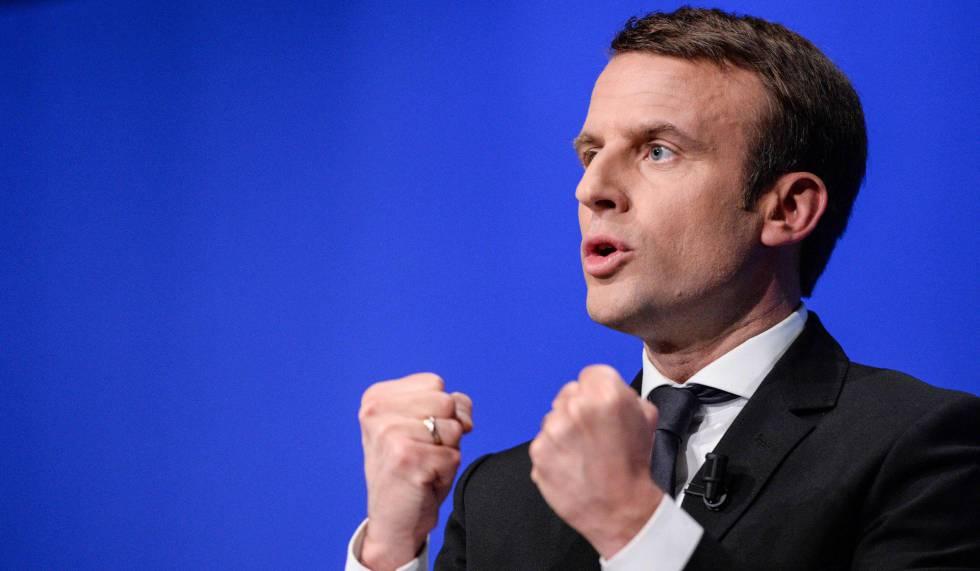 Emmanuel Macron, en una foto del 11 de abril.
