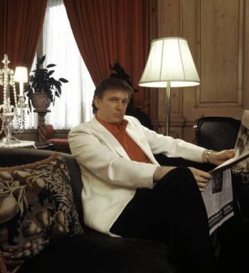 Donald Trump, en 1987.