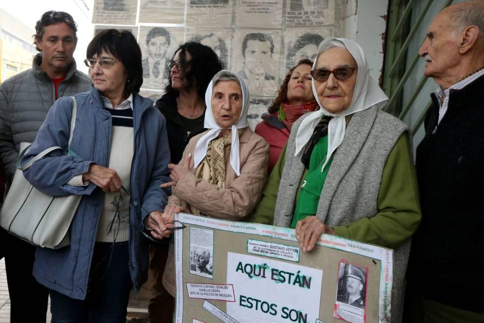 Inés Ragni e Lolin Rigoni, das Mães da Plaza de Mayo