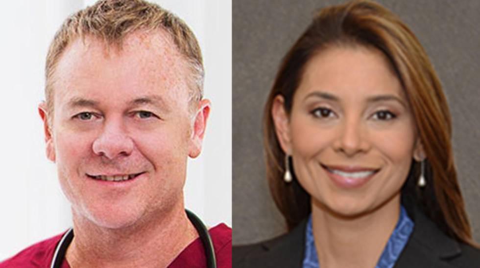 Richard Field y Lina Bolaños.