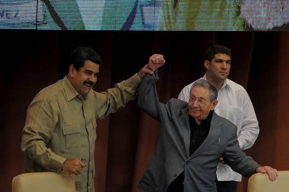 Nicolás Maduro y Raúl Castro en La Habana en diciembre.
