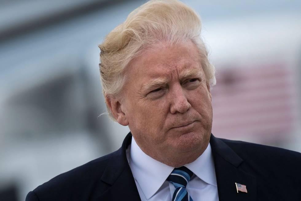 O dia em que a máscara de Trump caiu