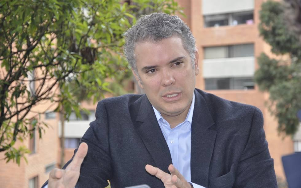 Iván Duque, precandidato del Centro Democrático a las elecciones presidenciales de 2018.