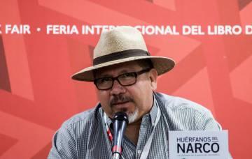 Javier Valdez, el pasado noviembre en Guadalajara.