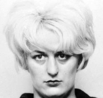 Myra Hindley también fue condenada a cadena perpetua.