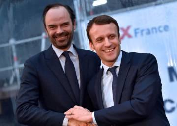 Macron nombra primer ministro al conservador moderado Édouard Philippe