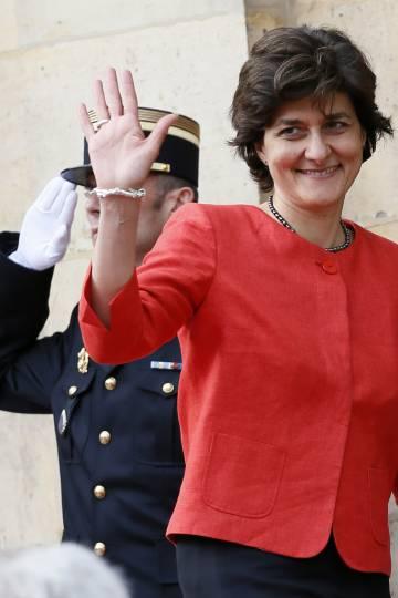 Sylvie Goulard, este miércoles en París.