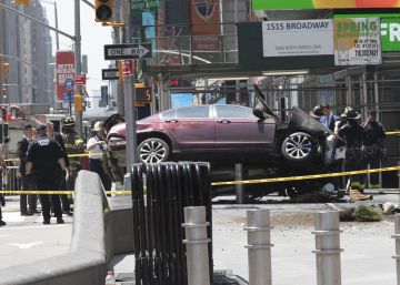 La policía investiga como accidente el atropello mortal en Times Square de Nueva York