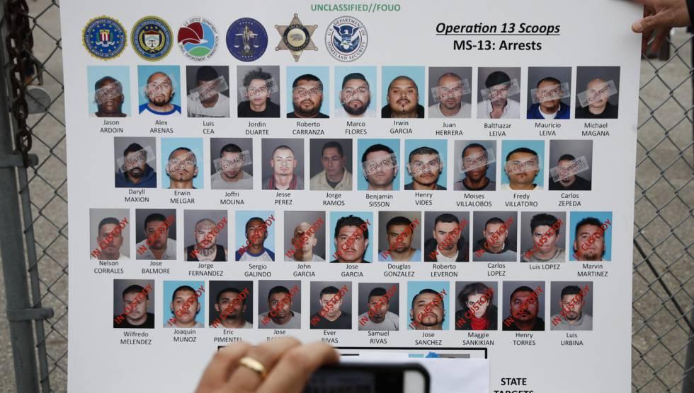 Los objeticos de la operación del FBI en Los Ángeles.