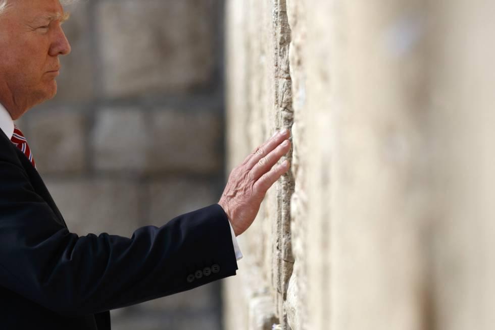 Trump, este lunes en Jerusalén