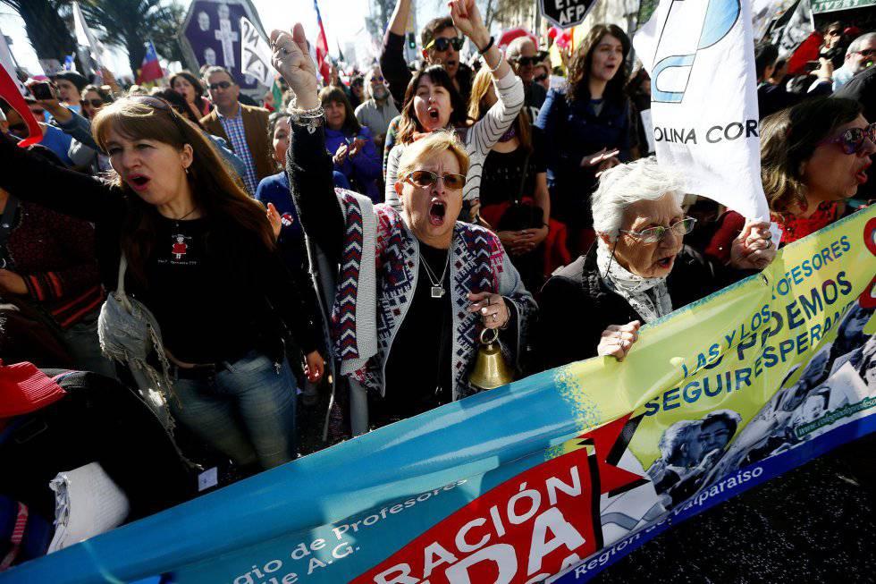 Jubilaciones militares en Chile