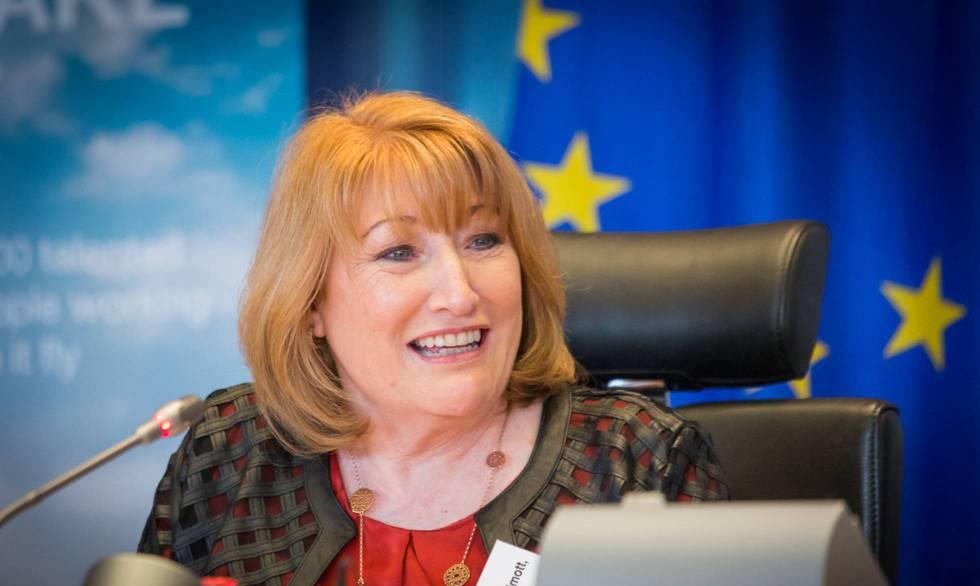 La eurodiputada Glenis Wilmott, ponente de la nueva ley.