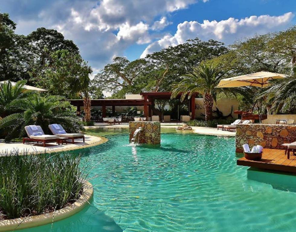 Best hotels in mexico world s best designed hotel is on for Design hotel yucatan