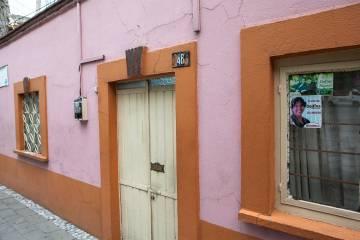La casa de Delfina Gómez, en Texcoco.