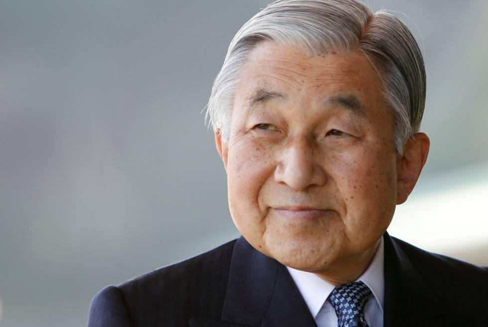 El emperador japonés Akihito en 2011.