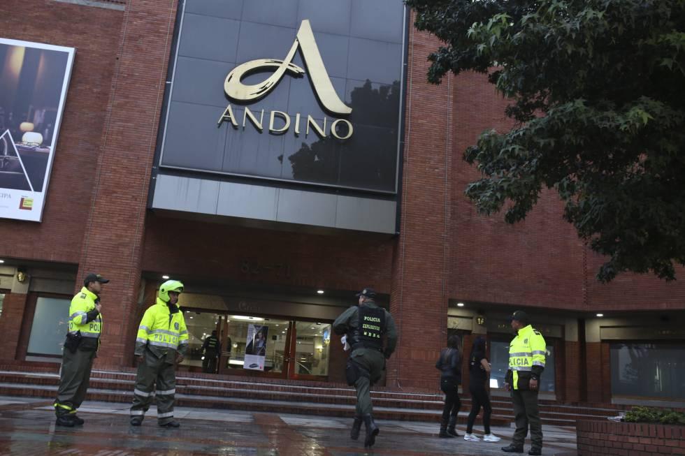 Explosión en el Centro Comercial Andino