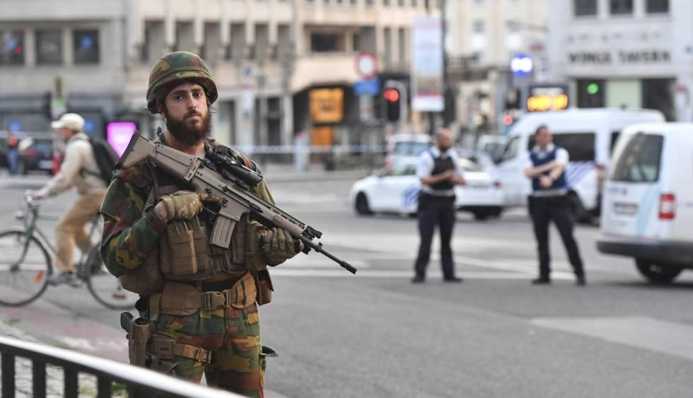 Atentado frustrado en Bruselas
