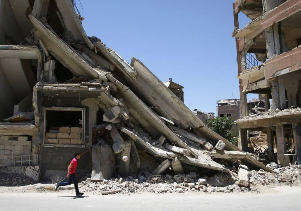 Estados Unidos acusa a Siria de preparar otro posible ataque químico y le amenaza con nuevas represalias