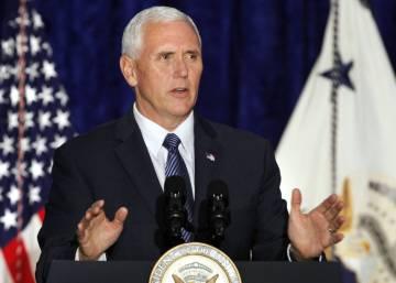 """El vicepresidente de EE UU: """"Estamos francamente decepcionados por la inacción de la OEA ante Venezuela"""""""