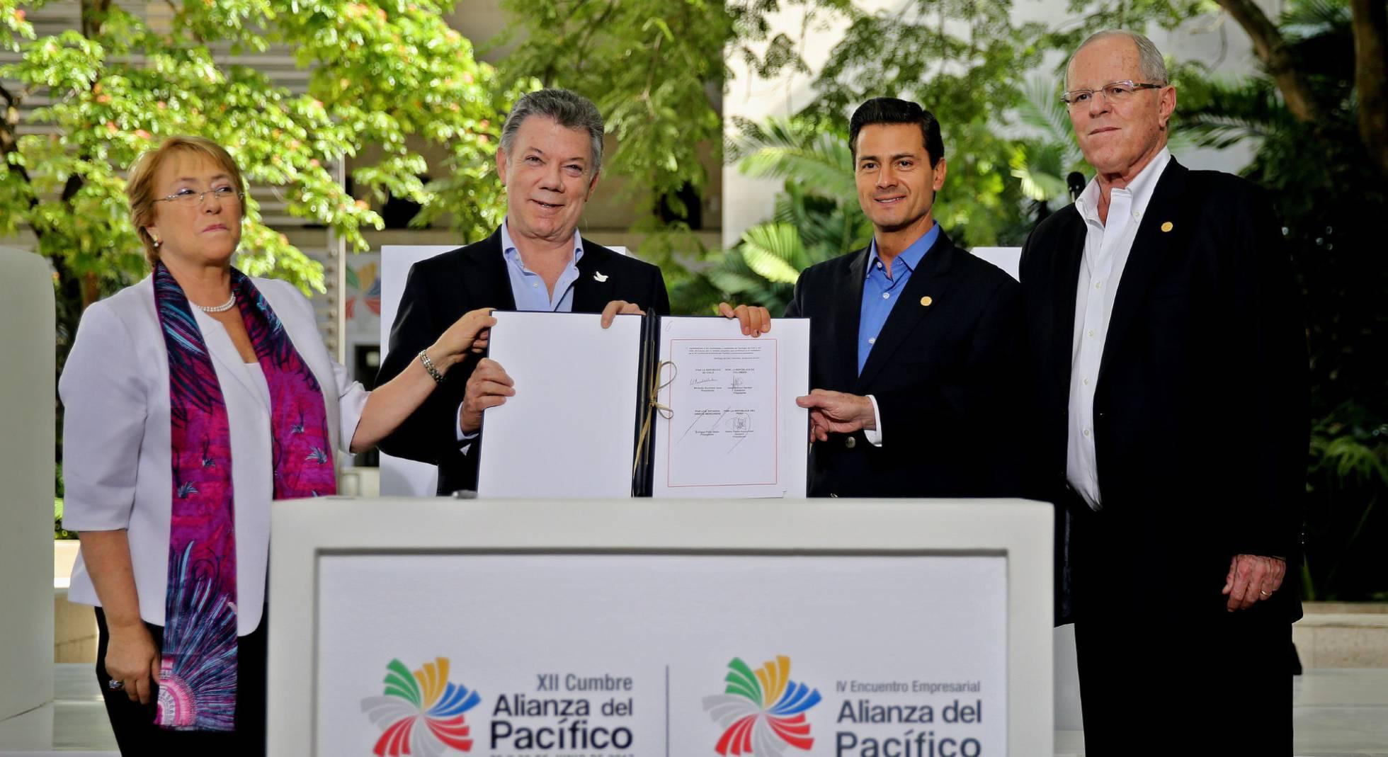 Aliança do Pacífico incorpora mais quatro países