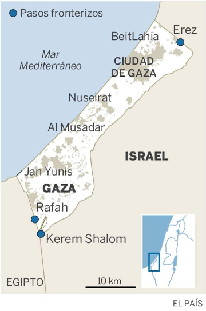 Los palestinos emprenden una nueva jornada de protestas tras la matanza en Gaza