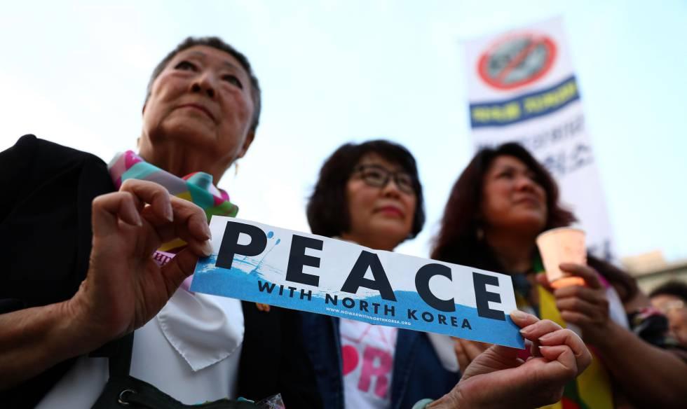 Mandatarios de las dos Coreas se mostraron dispuestos a