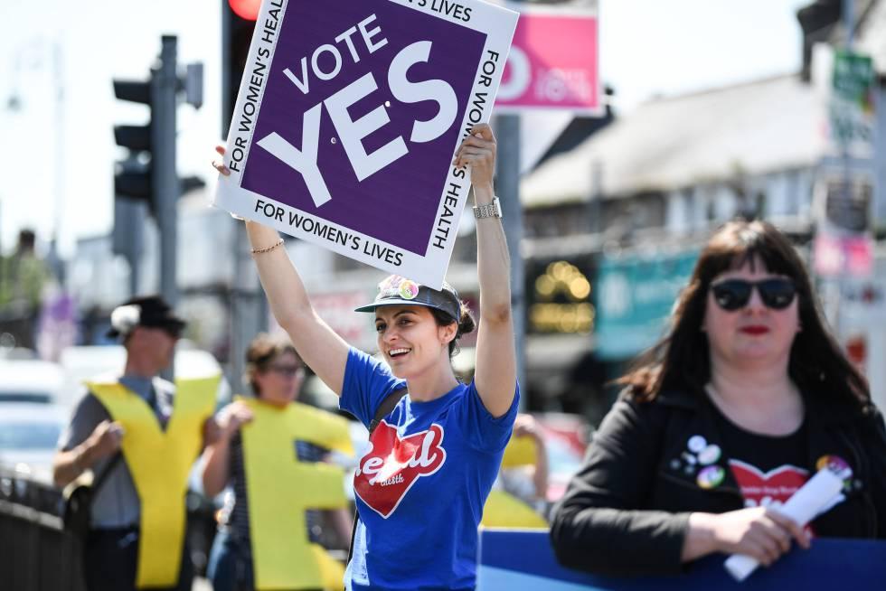 Dos de cada tres irlandeses apoyan el aborto legal