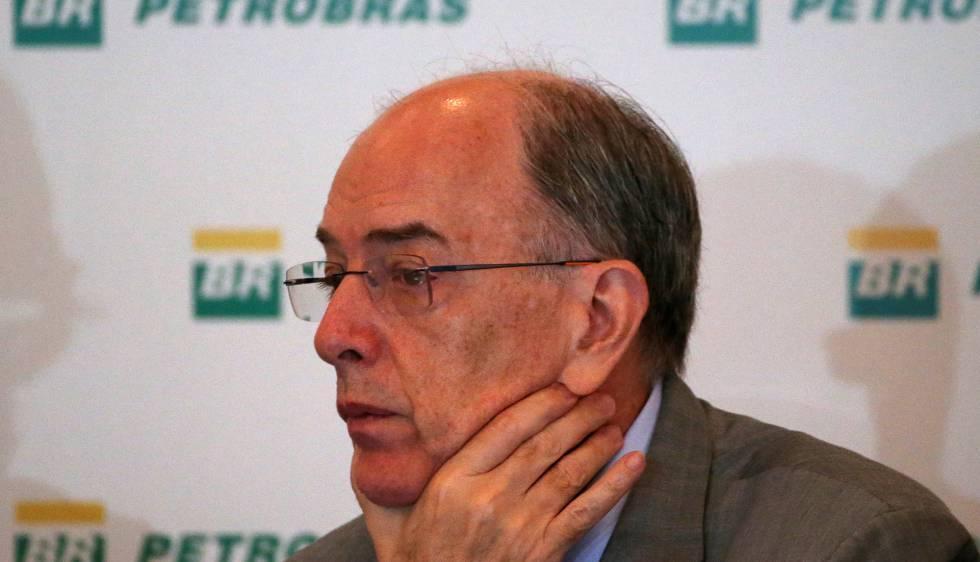Presidente de la brasileña Petrobras renuncia a su cargo