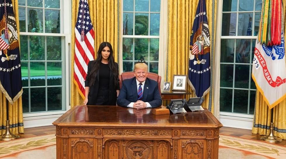 Trump consideró el pedido de Kim Kardashian e indultó a una mujer