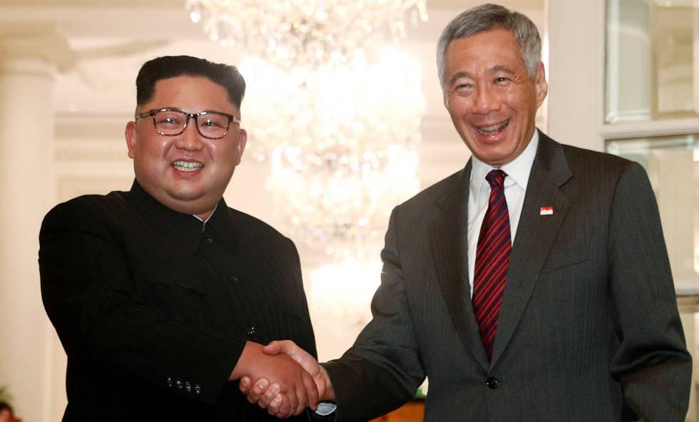 La televisión estatal norcoreana califica a Kim de