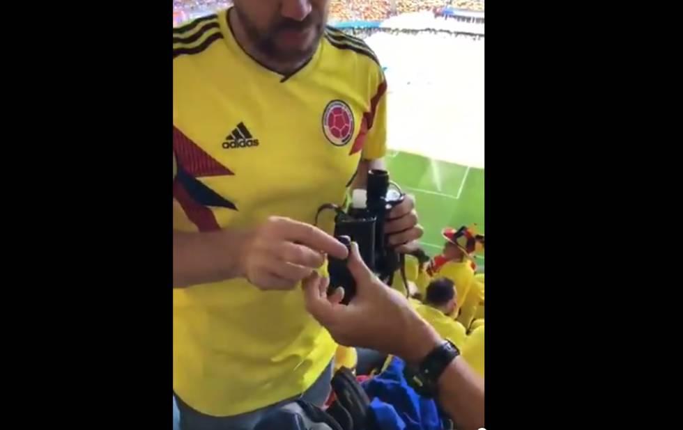 Un colombiano humillando a una japonesa en el Mundial incendia las redes