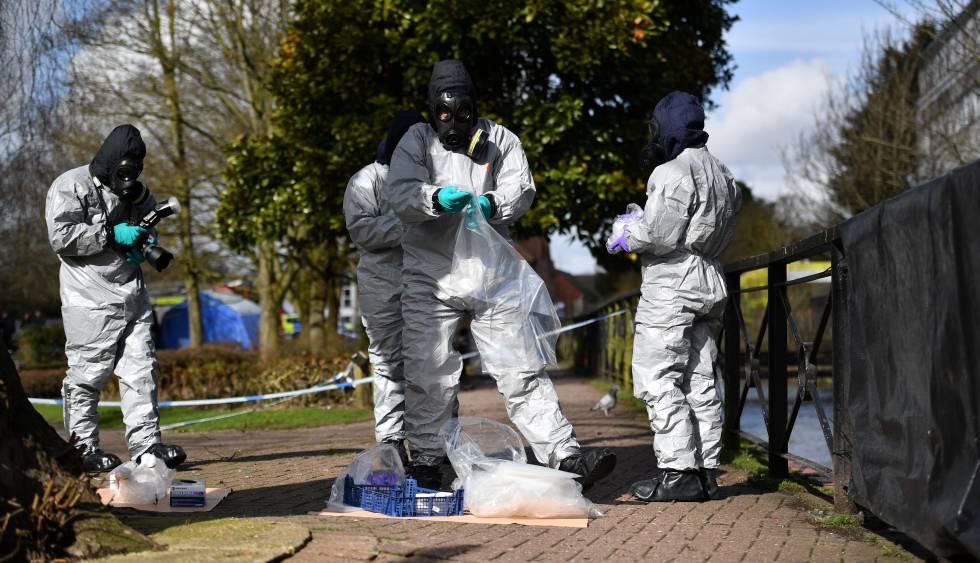 Los británicos intoxicados se expusieron al mismo gas nervioso que Skripal