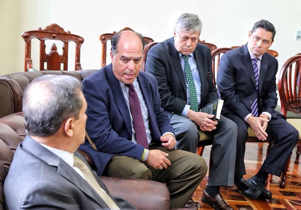 Requesens: Borges me pidió pasar a Juan Monasterios a Venezuela