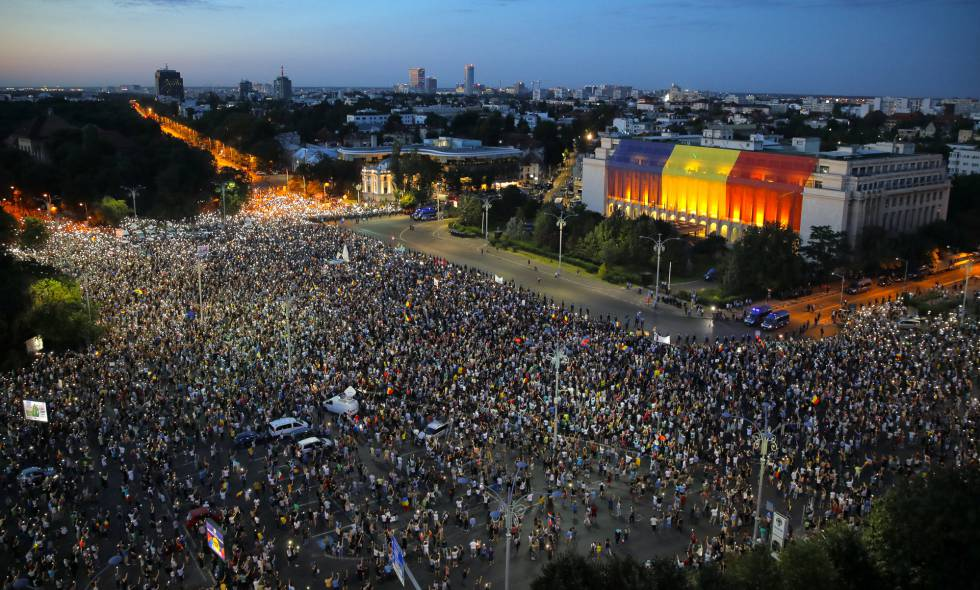 Cientos de manifestantes heridos e intoxicados