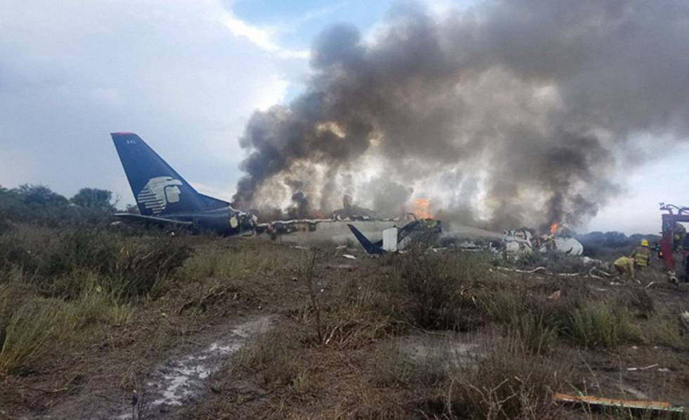 Ráfaga de viento provocó avionazo en Durango, informa SCT