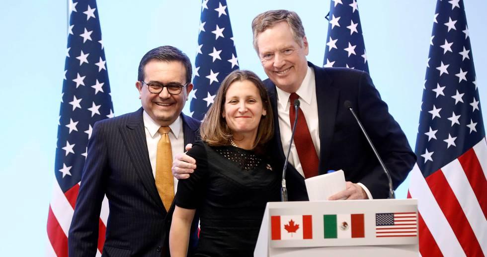 EU podría retirar medidas arancelarias a México y Canadá esta semana