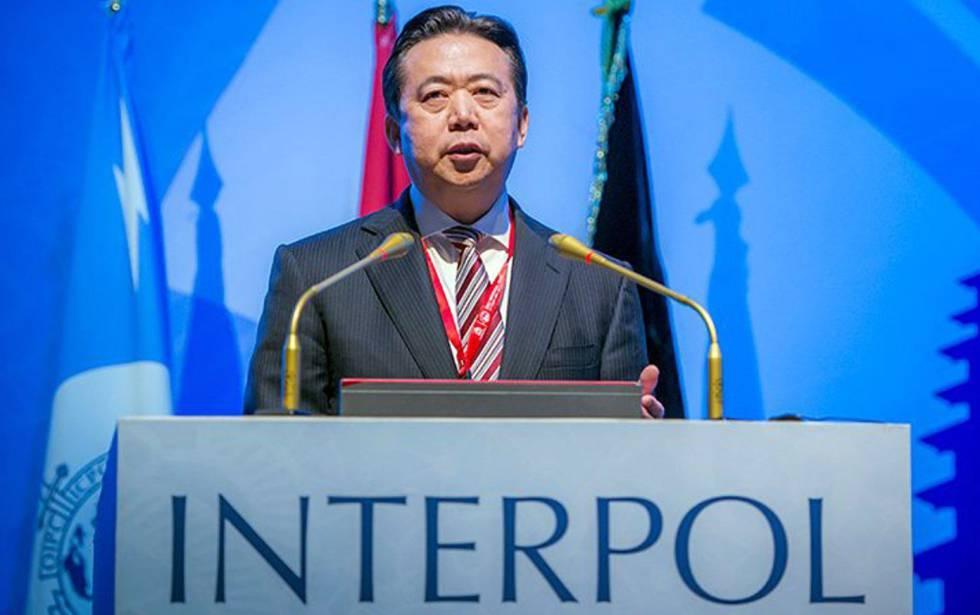 Interpol exige saber paradero de su presidente