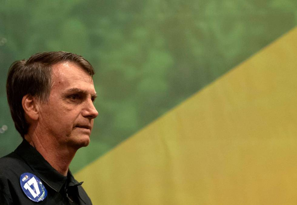 Brazil's Bolsonaro poised to win presidency in dramatic swing right