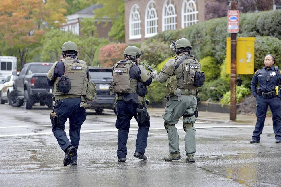 Al menos cuatro personas murieron cerca de una sinagoga — Tiroteo en Pennsylvania