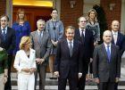 Foto de familia del nuevo Consejo de Ministros
